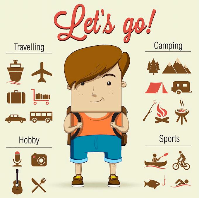 agenda como compañero de aventuras