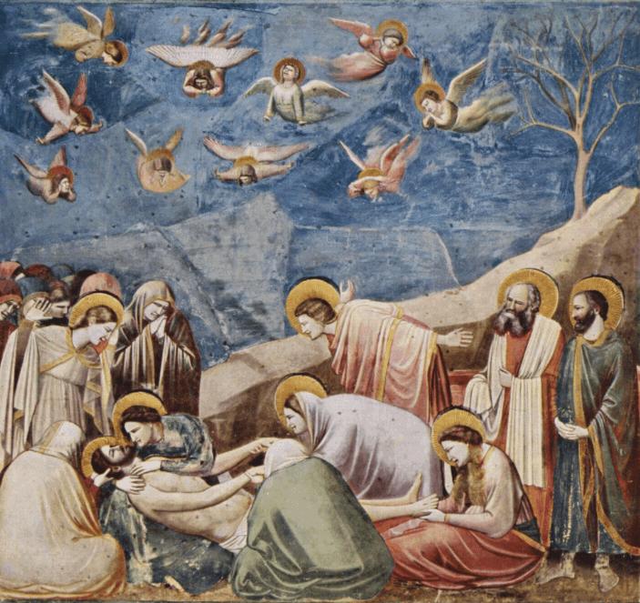 material empleado en la pintura gotica