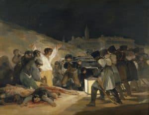 pintura en el museo del prado