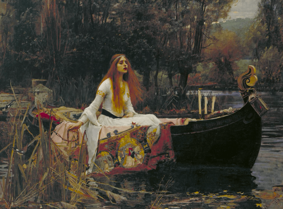 pintura romantica