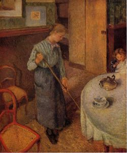 The Little Country Maid 1882 Camille Pissarro