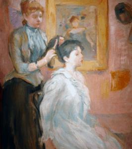 la coiffure berthe morisot
