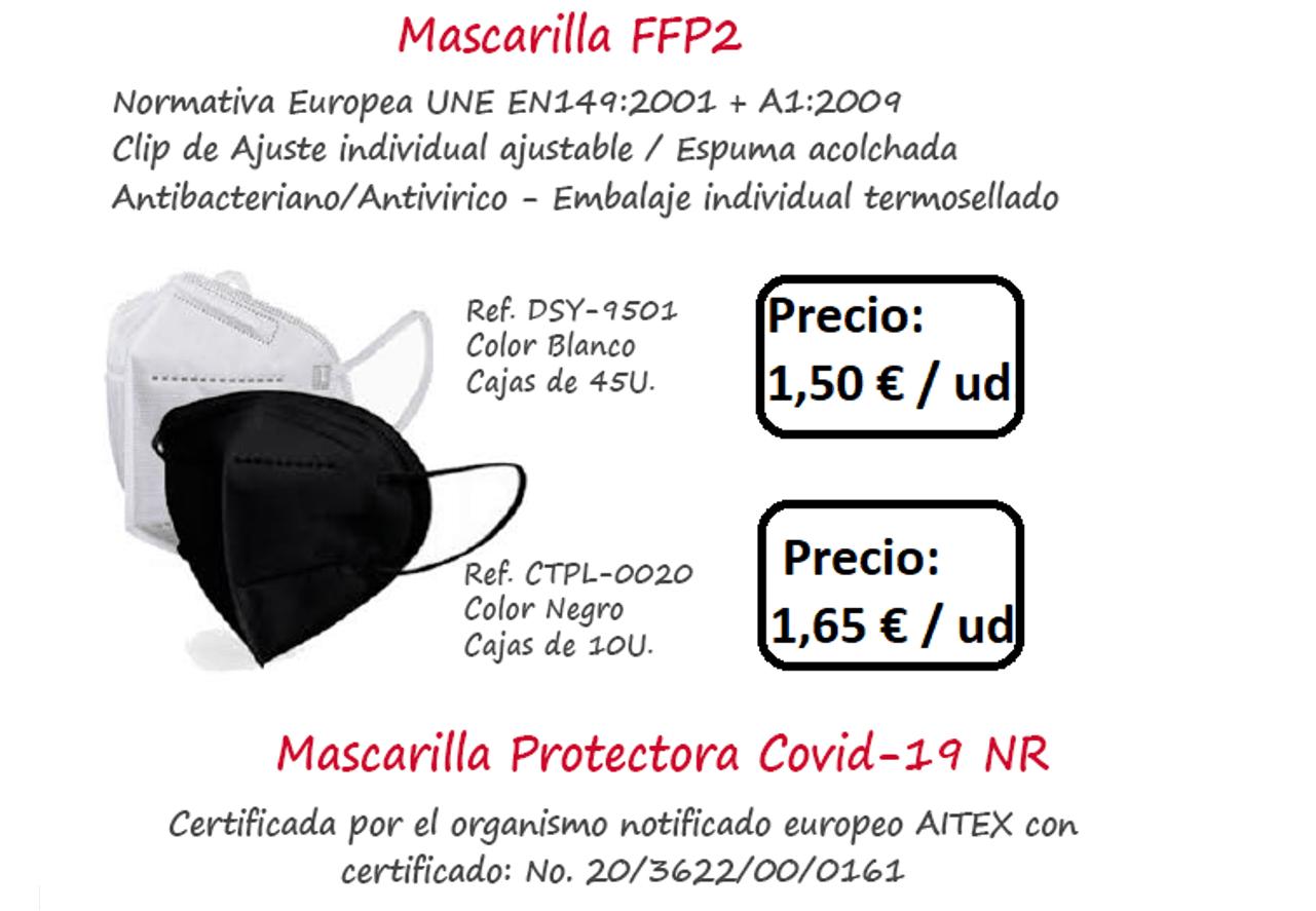 comprar mascaras ffp2 en officemat